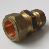 Brass MDPE Alkathene Reducer Coupling 20mm x 15mm- 18402015
